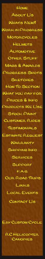 Custom Harley Paint and Airbrushing, Lori Eby, Eby Customs